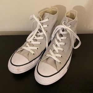 Off white high top converse
